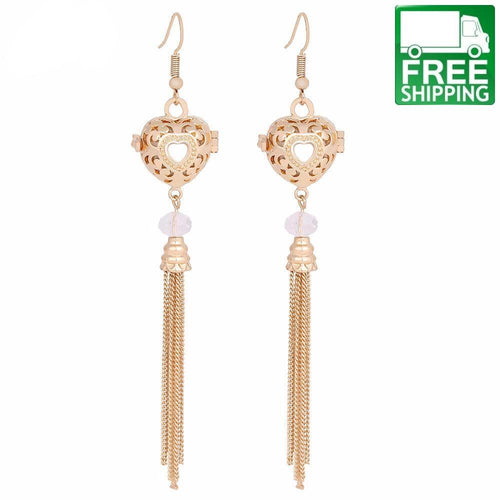 Tassel Aromatherapy Dangle Earrings