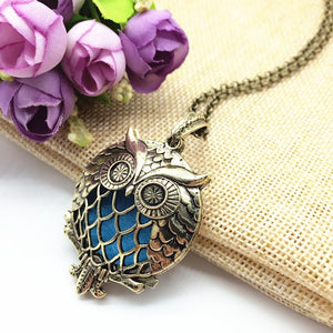 Aromatherapy Owl Necklace