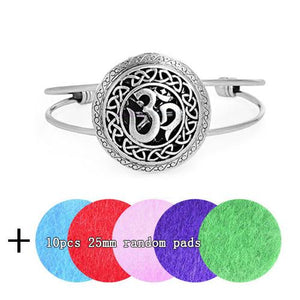 Vikings and Celts Aromatherapy Bracelet with Locket