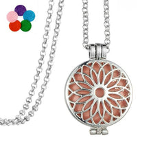 Sunflower Aromatherapy Necklace