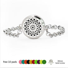 Unique Aromatherapy Bracelet with Diffuser Locket
