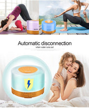 Ultrasonic Electric Oil Diffuser with Remote Control