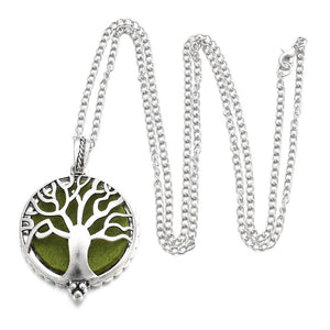 Silver with Tree of Life Pendant