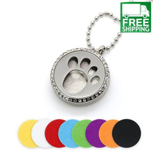 Cute Dog Paw Aromatherapy Locket Essential Oil Diffuser All Products Necklace
