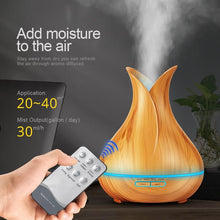 Ultrasonic Essential Oil Diffuser & Humidifier With RC (400 ml)