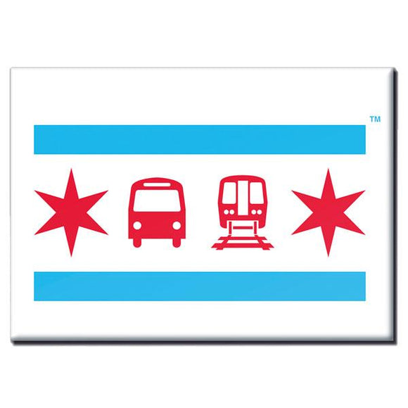 CTA Chicago Flag Collection
