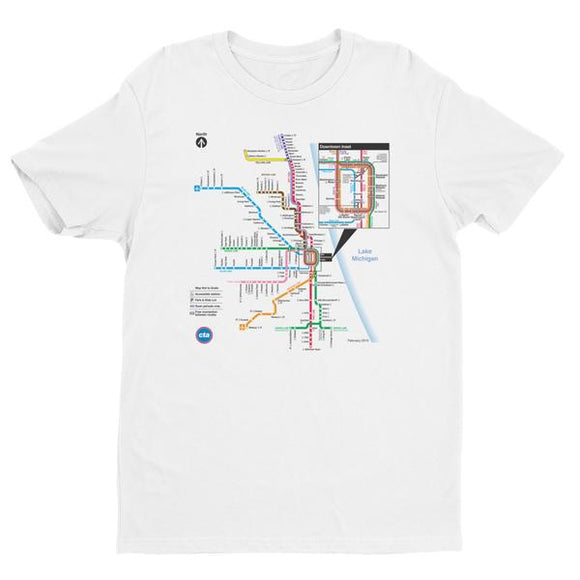 Chicago Transit Authority T-Shirts, Maps and other gift ideas ...