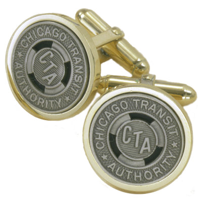 CTA Token Cuff Links (Gold Plate)