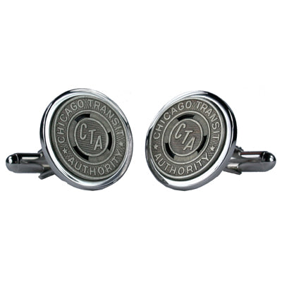 CTA Token Cuff Links (Silver Plate)