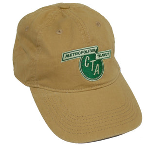 1956 to 1970 CTA Logo (Tan) Baseball Cap