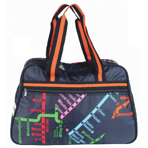 CTA Rail Map Large Carrying Bag