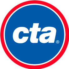 CTA Logo (Blue) Pin