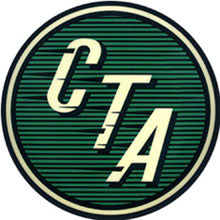 Green CTA Logo Pin