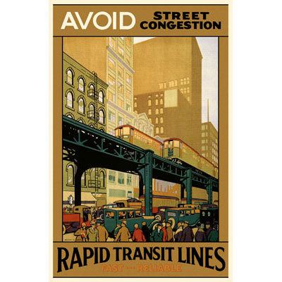 Avoid Street Congestion Magnet