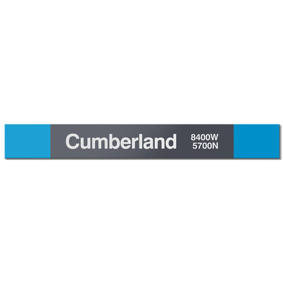 Cumberland Station Sign - CTAGifts.com
