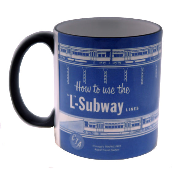 How to use the 'L' Subway Mug