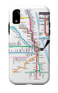 'L' Map iPhone Case