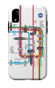 Loop Map iPhone Case