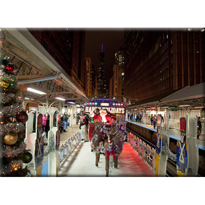 CTA Holiday Train Magnet