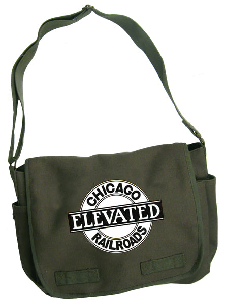 Chicago Elevated Railways Messenger Bag - CTAGifts.com