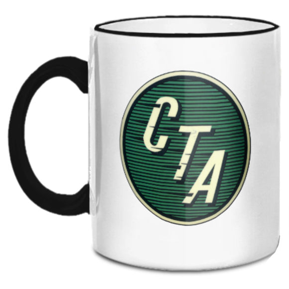 Green CTA Logo (1954 to 1956) Mug