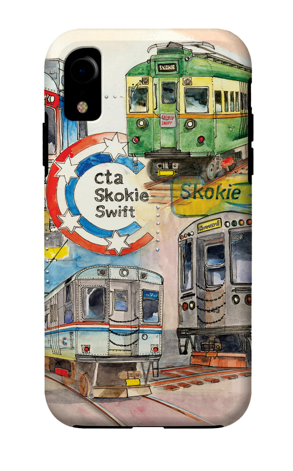 Skokie Swift iPhone Case