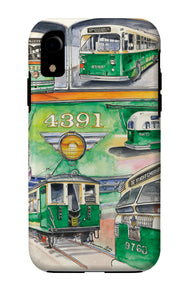Chicago Streetcars iPhone Case