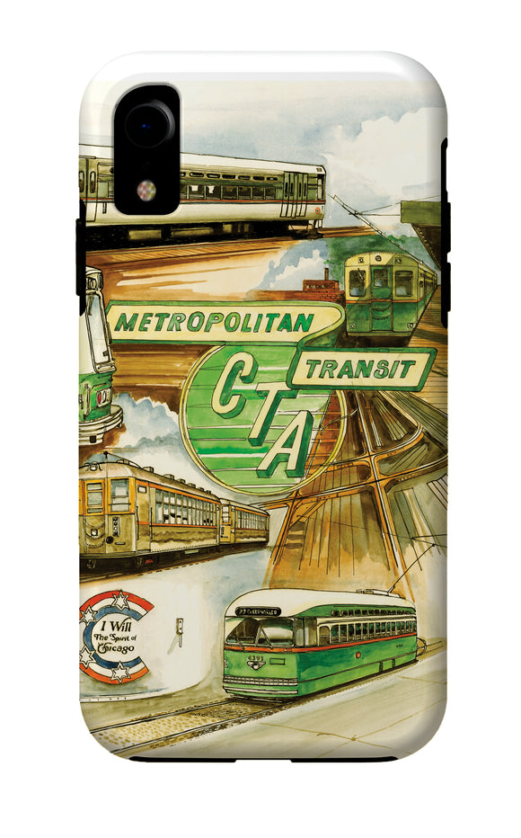 Metropolitan Transit iPhone Case