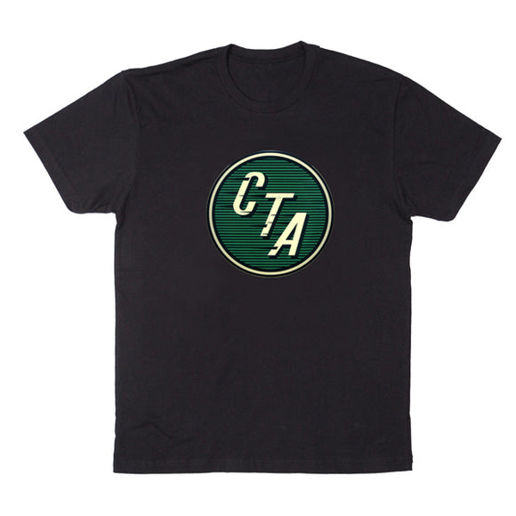 Green CTA Logo (Black) T-Shirt