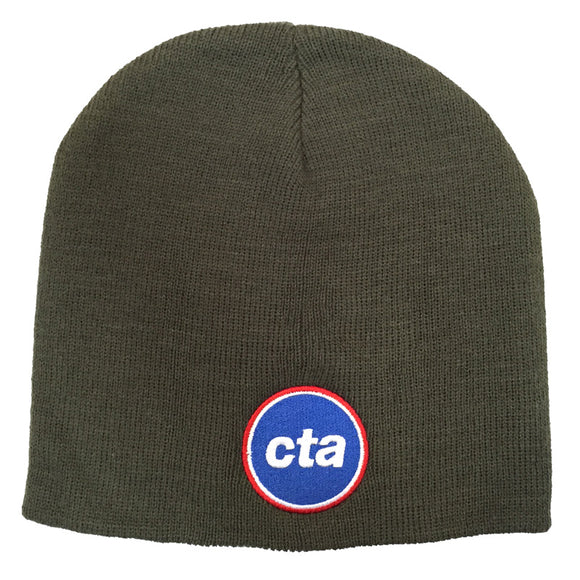 CTA Logo (Green) Knit Cap
