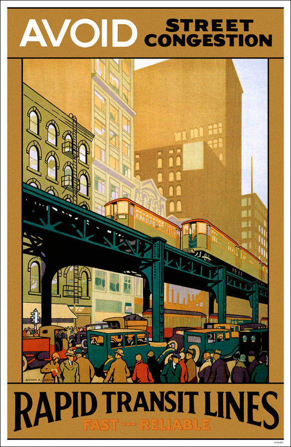 Avoid Street Congestion Print - CTAGifts.com