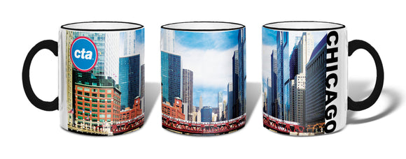 Chicago River Crossing Mug
