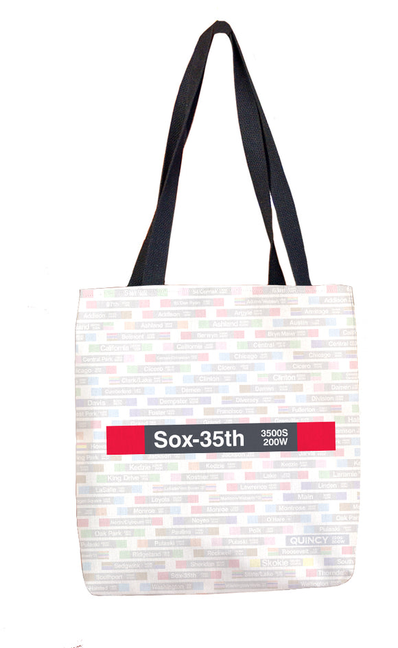 Sox-35th Tote Bag