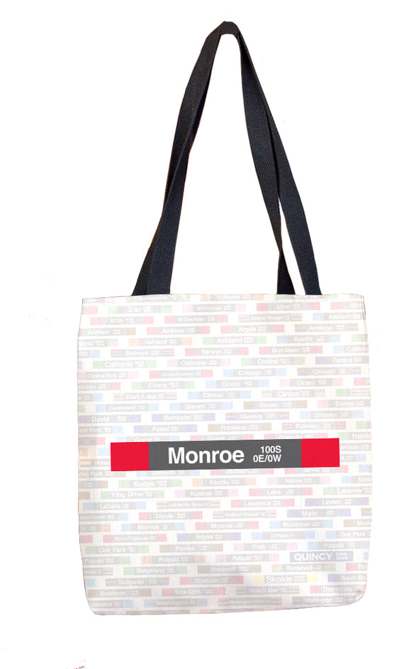 Monroe (Red) Tote Bag