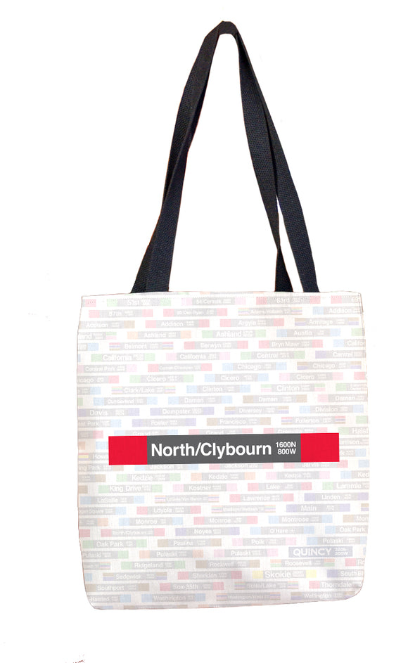 North/Clybourn Tote Bag