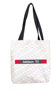 Addison (Red) Tote Bag