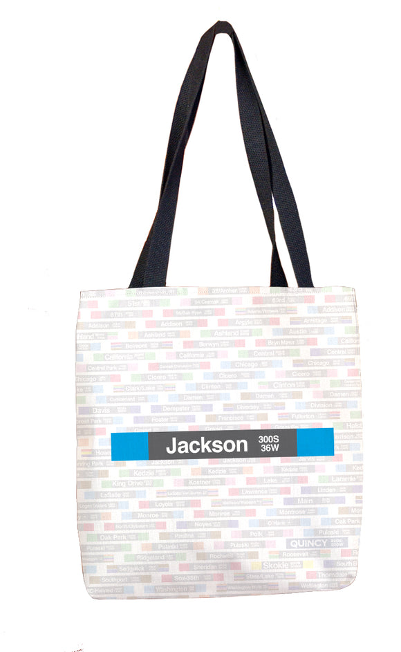 Jackson (Blue) Tote Bag