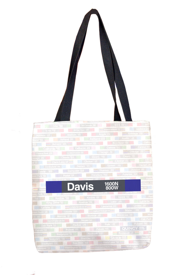 Davis Tote Bag - CTAGifts.com