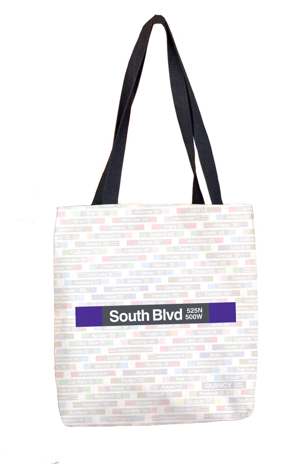 South Blvd Tote Bag - CTAGifts.com