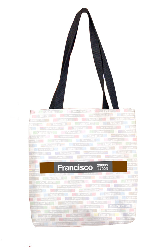 Francisco Tote Bag - CTAGifts.com