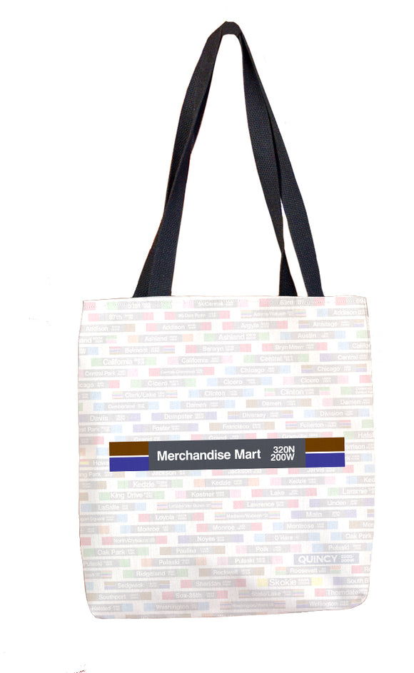 Merchandise Mart Tote Bag - CTAGifts.com