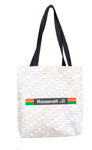 Roosevelt (Orange Green) Tote Bag
