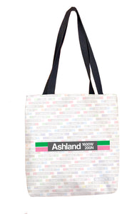 Ashland (Green 1600W 200N ) Tote Bag
