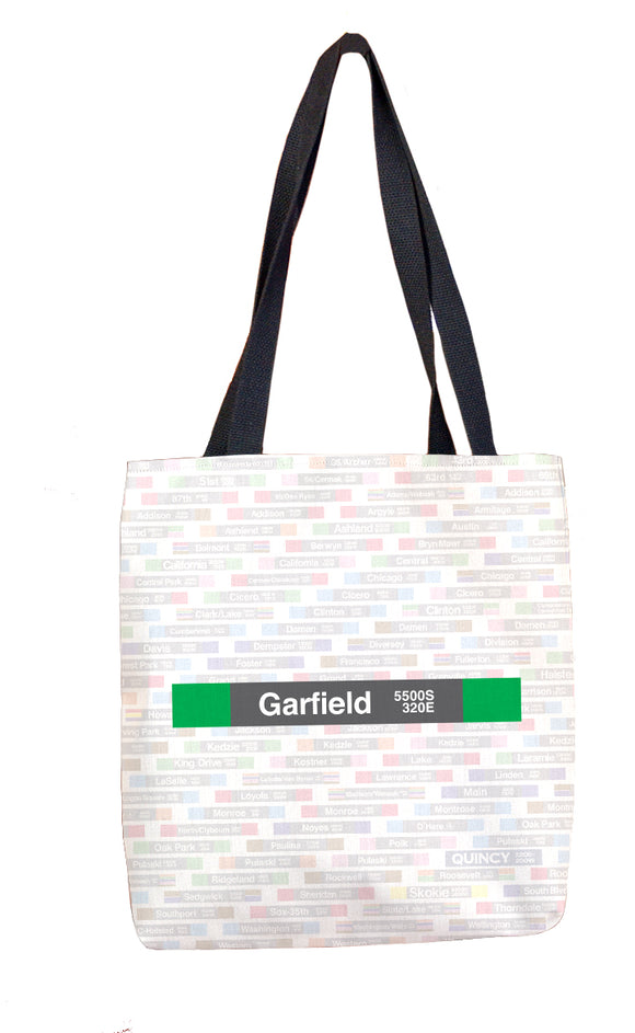 Garfield (Green) Tote Bag