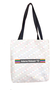 Adams/Wabash Tote Bag