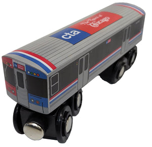 2400 Train (Spirit of Chicago) Wooden Train - CTAGifts.com