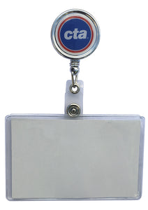 CTA Logo Retractable ID Holder