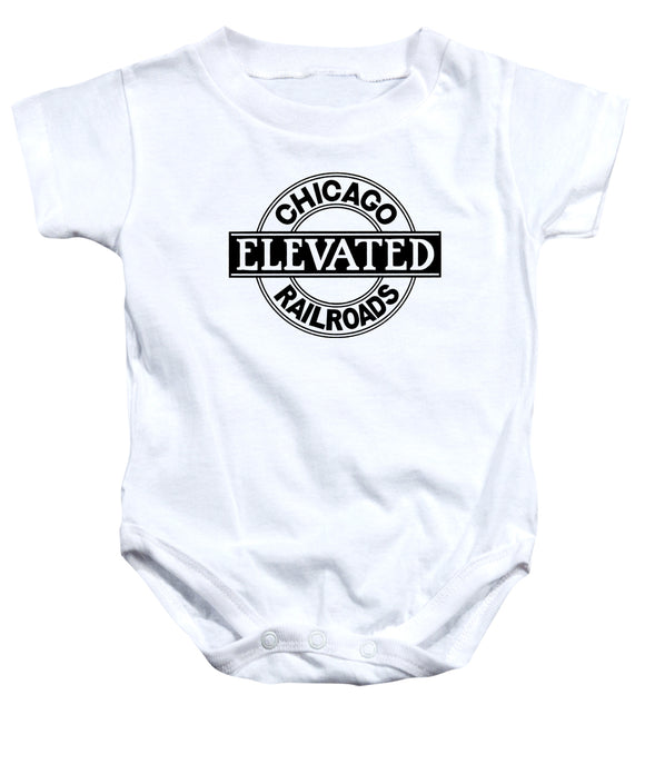 Chicago Elevated Railroads (White) Romper