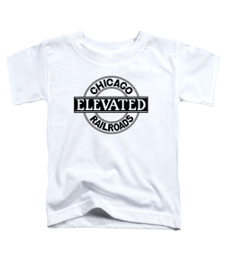 Chicago Elevated Railroads (White) Toddler Tee