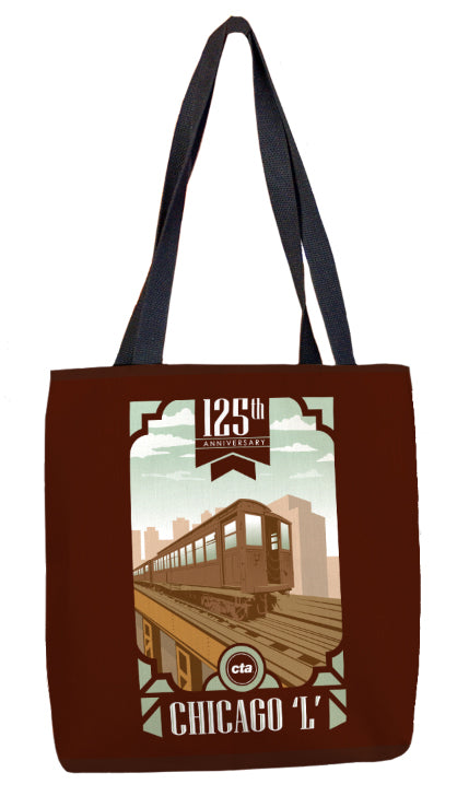 125 Anniversary (Brown) Tote Bag